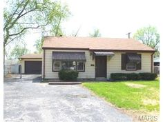 """18 Mcnulty, Florissant, MO 63031 : FORECLOSURE Sold """"AS-IS"""". No Seller Disclosures Provided. Come on into to this cozy 2 bedroom home. The living room looks into the kitchen which is great for cooking and visiting at the same time. The kitchen and utility room are a must see! The home sits on the end of a cul-de-sac for privacy. Large fenced yard and backs to common ground would be awesome for your bar-b-ques. 2 car garage with storage and a utility shed for storage. Lisa Dickerson…"""