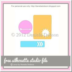 Summer is awesome collection - free cut file created by Daniela at Create Your Everyday #Silhouette #CutFile