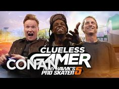 Conan Takes On Lil Wayne In Tony Hawk's Pro Skater 5 On The Latest Edition Of Clueless Gamer - It's All The Rage