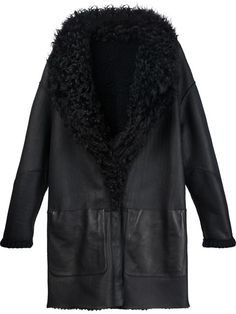 Maison Ullens reversible shearling coat