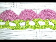 How to Crochet the Edge / Border Stitch Pattern #13 by ThePatterfamily - YouTube