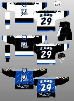 Tampa Bay Lightning 1996-99 - The (unofficial) NHL Uniform Database Тампа  Бэй a042222a2