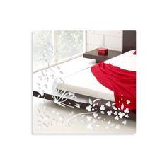 Dizajnové nalepovacie zrkadlá s motýľom - domtextilu. Floating Nightstand, Vanity, Butterfly, Table, Furniture, Home Decor, Floating Headboard, Dressing Tables, Powder Room