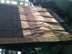 silk by cotton whith jari bordar Saree, Silk, Blanket, Classic, Cotton, Derby, Sari, Blankets, Classic Books