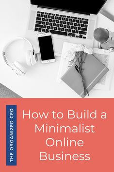 Simplify your business through organization, systems, and processes. You can have a minimalist home, but you can also have a minimalist business! Online Business Plan, Starting A Business, Business Planning, Business Tips, Business Organization, Organization Hacks, Make Money Online, How To Make Money, Online Work
