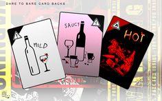 Dare To Bare Card Backs by ameshin.deviantart.com on @DeviantArt