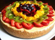 Cheesecake de Frutas