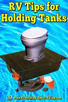 RV Tips for Holding Tanks: Your RV has what is referred to as a gray water holding tank and a black water holding tank... Read More: http://www.everything-about-rving.com/rv-tips-1.html Happy RVing! #