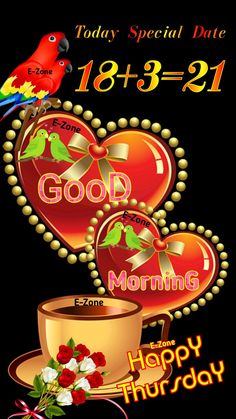 Good Morning Thursday, Happy, Ser Feliz, Being Happy