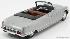 METAL18 18103-18002A Scale 1/18  CITROEN DS21 CABRIOLET PALM BEACH HENRI CHAPRON 1968 LIGHT GREY MET Vintage Models, Palm Beach, Classic Cars, Scale, Interior, Weighing Scale, Indoor, Vintage Classic Cars, Balance Sheet