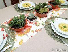 Spring Garden Easter Table Decor