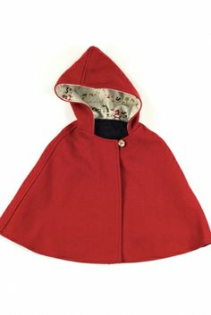 winter cape for girls