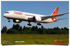 Air India - New Delhi to Hyderabad.