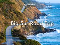 Start in Monterey then drive a few miles down to Carmel-by-the-Sea China Covein Point Lobos State Reserve Soon you'll come to Bixby Creek...