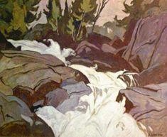 Casson Oxtongue River Group of Seven Urban Landscape, Landscape Art, Landscape Paintings, Oil Paintings, Emily Carr, Canadian Painters, Canadian Artists, Group Of Seven Paintings, Tom Thomson Paintings