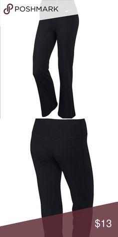 Nike Yoga Pants Super comfortable 86% polyester, 14% spandex Nike Pants Boot Cut & Flare