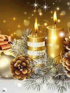 Merry Christmas Wishes : Merry Christmas Gif, Christmas Scenes, Christmas Candles, Vintage Christmas Cards, Christmas Wishes, Christmas Art, Christmas Greetings, Winter Christmas, Christmas Decorations