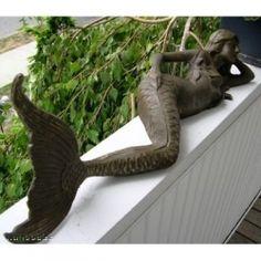 Mermaid Art: Mermaid Statues, Figurines, Beautiful Mermaid Pictures