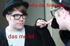 Patrick Stump- Fall Out Boy OMG, Patrick... You make me smile/laugh everyday!