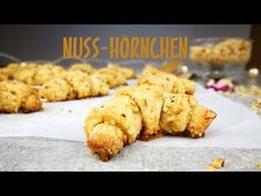 Leckere NUSSHÖRNCHEN | Schnelles Rezept aus nur 6 Zutaten | Nuss Hörnchen | Kikis Kitchen - YouTube
