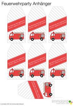 Hier gibt es alles was du für einen Feuerwehr Geburtstag brauchst: Druckvorlagen, Spielideen und passende IKEA Hacks! Alles mit einem Download!
