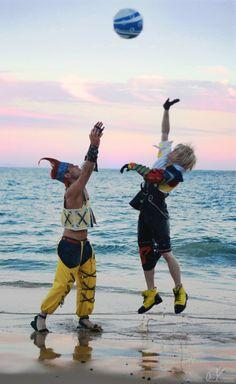 Final Fantasy X #cosplay