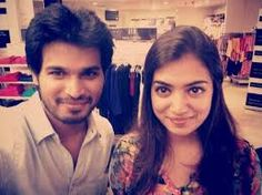 Rakshu with Nazriya