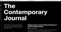 Tina Touli - The Contemporary Journal