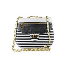 a21cdc69753c Nila Anthony Color Block Stripe Crossbody Striped Bags