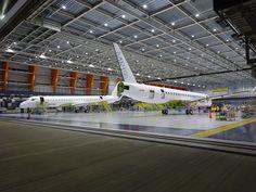 MRJ aircraft 10007 and 10010 will join the flight test fleet. #flighttest