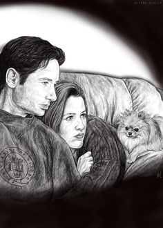 """""""Scully, if that walking bird's nest is going to sit with us, I'm picking what we watch."""" by aliens-scully on tumblr"""