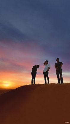 Baekhyun Monument Valley, Sunset, Celestial, Outdoor, Chanyeol, Deep, Wallpapers, Sunsets, Outdoors