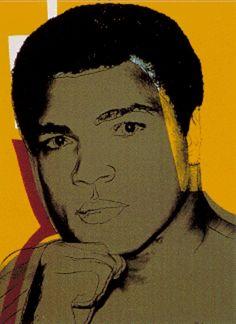 'Ali', huile de Andy Warhol (1928-1987, United States)