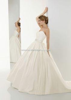 Wedding Dresses, Bridesmaid Dresses, Prom Dresses and Bridal Dresses Mori Lee Blu Wedding Dresses - Style 4524 [4524] - Mori Lee Blu Wedding Dresses, Spring 2010. Strapless luxe taffeta ballgown.