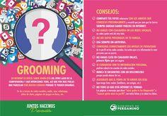 Riesgos en las #RedesSociales: Qué es el #Grooming? #Consejos