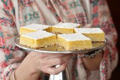 Pioneer Woman's lemon bars!! These are great!