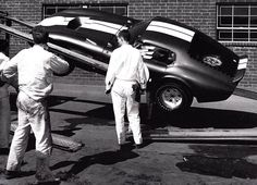 Accident with shelves, AC Cobra Coupe