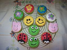Eerste eigen experiment met cupcakes versieren