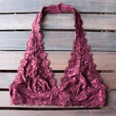 """COMING SOON! Sexy Pink Lace Bralette New! Measurements: Medium: Bust across = xx"""" & L=xx"""" Large: Bust across = xx"""" & L=xx"""" XL: Bust across = xx"""" & L=xx"""" Intimates & Sleepwear Bras Lace Halter Bralette, Pretty Bras, Lace Vest, Floral Lace, Sexy, Pink Ladies, Fashion Tips, Women's Fashion, The Beach"""