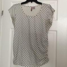 Polka dot  for maternity tee Cute well worn polka dot maternity tee Tops Tees - Short Sleeve