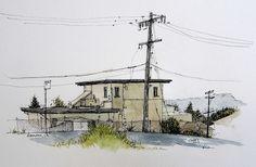 Urban Sketchers: over Hayward