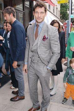 David Gandy nominee for the GQ-com's Best Dressed 2013 ~ David James Gandy
