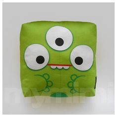 Decorative Pillow Mini Pillow Kawaii Print Toy Pillow  by mymimi, $18.00. LOVE this pillow!!!!