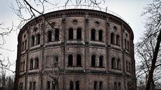 Old gasworks, Wola, Warsaw