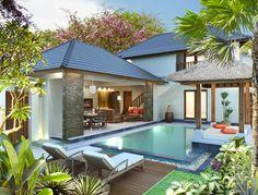 Bali property - poolside view ii