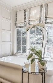 38 Stylish Roman Shades Ideas For Your Home