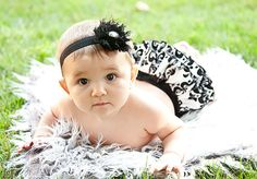Baby Ruffle Diaper Cover Bloomer Bloomers Fancy by BloominBloomers, $25.00