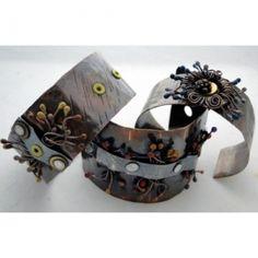 2/6/2013 10:30am - 2:00pm Debora Mauser Squiggly Cuff Bracelet