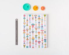 Shapes  Notebook by Depeapa by depeapa on Etsy, $15.00