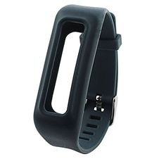 Feelily Watchbandstyle Replacement Wrist Band  2015 Latest Fashion with Buckle for Fitbit One Wireless Fitness Tracker No Tracker Slate *** Learn more by visiting the image link.